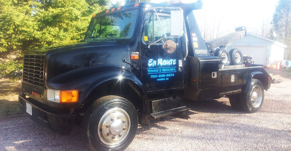 En Route Towing and Recovery | Contact Us